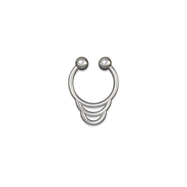 fake septum piercing